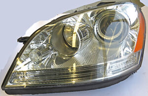 Mercedes-Benz ML Class 07-2009 LH Headlight Bi Xenon 1648202161