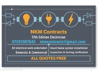 NKM Contracts - Electrician 17th edition - Domestic & Commercial
