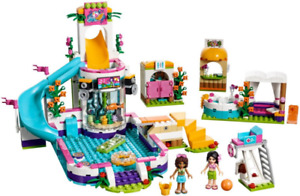 Lego Friends - Heartlake Summer Pool (almost new)