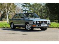 1987 BMW 5 SERIES 2.7 525E LUX AUTO 4D LONG MOT UNTIL DECEMBER