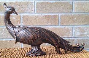 Vintage Coppercraft Peacock