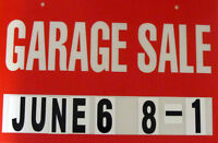 Two Sub-division Garage Sale