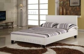 🌷💚🌷BRAND NEW 🌷💚DOUBLE & KING SIZE FAUX LEATHER OTTOMAN BED FRAME IN BLACK OR BROWN