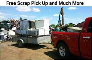Free Scrap pick up and much more
