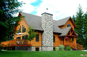 Luxury Log Home at an Affordable Price
