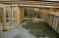 Basement framing and finishing