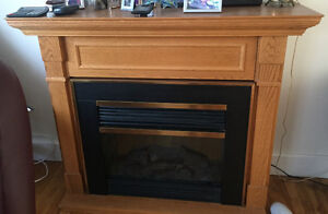 Electric fireplace $350 obo
