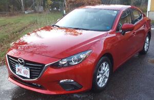 2016 Mazda3 Sedan