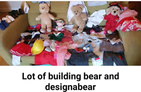 Large bundle build a bear and more