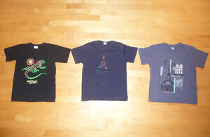 T-shirts, manteaux, pantalons, chemises, pyjama 10 ans