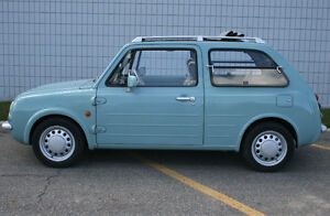 NISSAN PAO, EXCELLENT CONDITION, 66000kms, RHD, Sunroof, JDM.