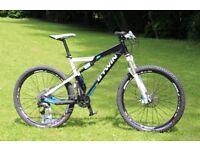 mountain bike full suspension air shocks