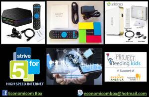 Digital TV Box - Video streaming IPTV & Discount Telecom Service
