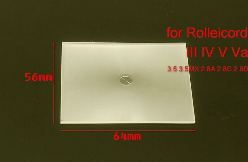 Fresnel Split focus screen Rolleicord 2 IV V Rolleiflex 3.5MX 2.8A 2.8D Autocord