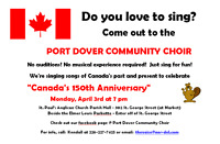 Come Sing with the Port Dover Community Choir