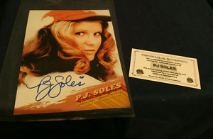 Autographed photo of P.j Soles of Carrie/ halloween