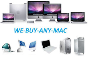 WE BUY ALL MACBOOK PRO, DETECTIVE AND NON WORKING.  TOP $$ PAID!