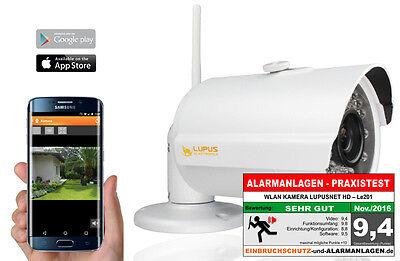 LUPUSNET IP-Kamera Netzwerkkamera LE201 WLAN HD 1.3MP Outdoor 92° LUPUS 10201