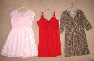 Dresses, Tops, Capris, Jackets, Pants - sz 16, XL (some new)