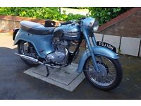 Triumph T21 (Tiger Bathtub 350cc)