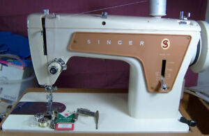 SINGER 239 ALL METAL HEAVY DUTY SEWING MACHINE  READY TO SEW