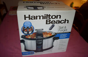 New Hamilton Beach Slow Cooker in Unopened Box