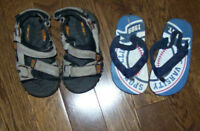 Cherokee & The Children's Place Sandals, Infant Size 5