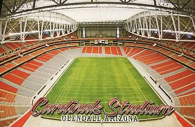 2006 ARIZONA CARDINALS NFL FOOTBALL STADIUM Color PHOTO CARD-Lot Glendale (AZ)