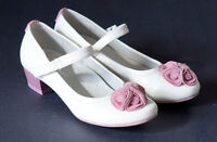 Girls' dressy shoes, leather, size 33