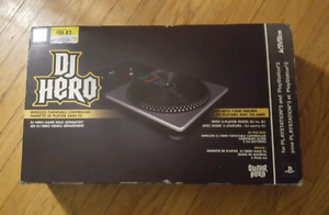 Brand new condition DJ Hero Turn Table PS3