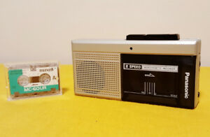 GREAT CONDITION Panasonic RN-108 Microcassette Tape Recorder