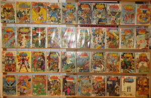 New Teen Titans (1980 & 1984 series) 146 issue DC comic book lot