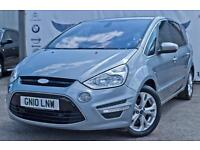 2010 FORD S-MAX 2.0 TDCI TITANIUM PARKING SENSORS! PRIVACY GLASS NEW SHAPE! NEW