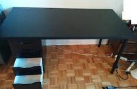 Bureau armoire ikea occasion , 5 tiroirs