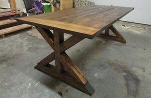Trestle Farm Table - choose size & color - New Year SALE!