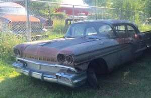 Parting out 1958 Olds 88 4dr dr