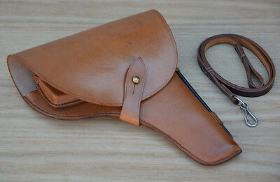 USSR Tokarev TT-33 Nagant Revolver pistol holster with cleaning rod & lanyard  for sale  Shipping to United States