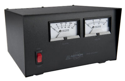 Astron Rs-20m Linear With Meters 20 Amp Regulated Dc Power Supply