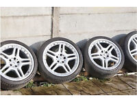 """Mercedes AMG 18"""" Alloy Wheels Alloys"""