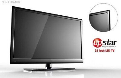 "UPSTAR 32"" LED HDTV 720P 60Hz LED HD Tv ""BRAND NEW"" P32EA1, HDMIx3, USB, VGA new"