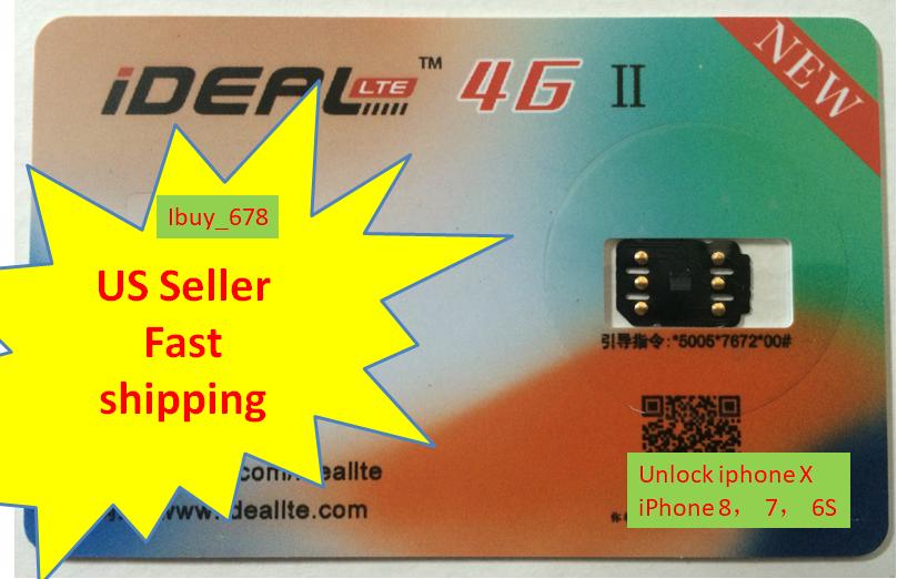 Unlock Turbo Chip SIM Card for iPhone11, Max, XS, X 8 7 6s