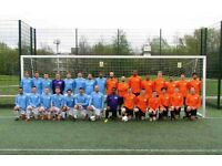 JOIN 11 ASIDE FOOTBALL TEAM IN LONDON, FIND SATURDAY FOOTBALL TEAM, JOIN SUNDAY FOOTBALL TEAM 5QZ