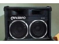 Carslbro PX208 speaker XLR connector