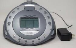 HoMedics SS-6000 Sound Machine Spa CD Atomic Clock Radio and Time Projection