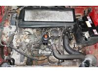 Peugeot 306 1.9td Engine and gearbox