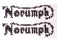 Triumph Sticker 6 inch wide Black letters with a Metallic Gold Outline New