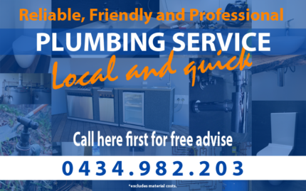 Plumber - Friendly, Reliable and Professional!