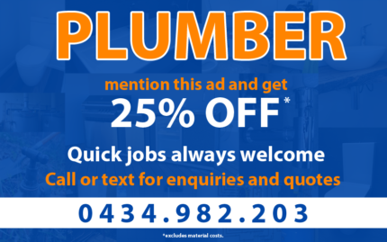Plumber - General Plumbing, Solar, Heating and Air Conditioning