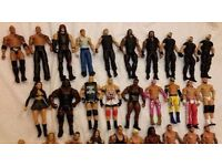 WWE figures, belts and rings
