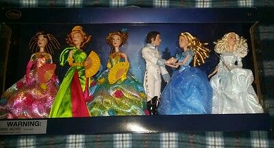 Disney Store Cinderella Live Action Deluxe Gift Set